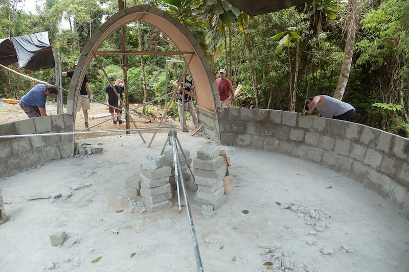 NuMundo - AirCrete Dome Foundation-to-Finish Workshop